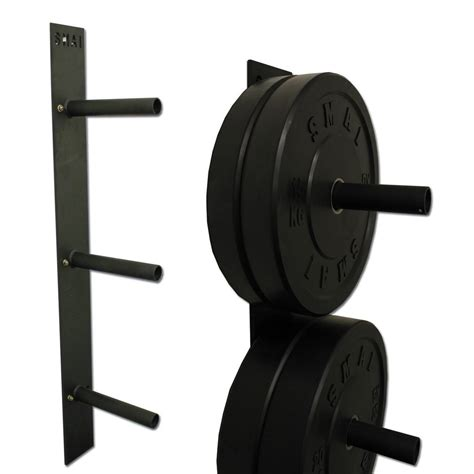 wall mounted weight rack bumper plate wall mounted rack weights fitness smai