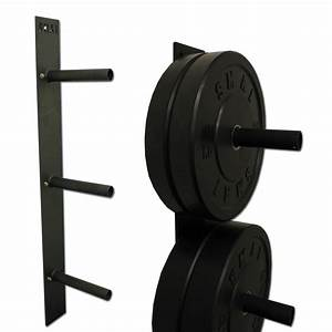 Bumper Plate - Wall mounted Rack Weights & Fitness SMAI