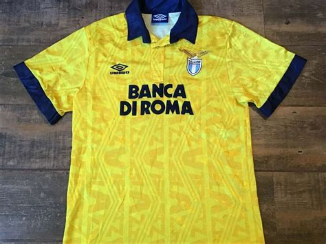 Global Classic Football Shirts | 1993 Lazio Vintage Old ...