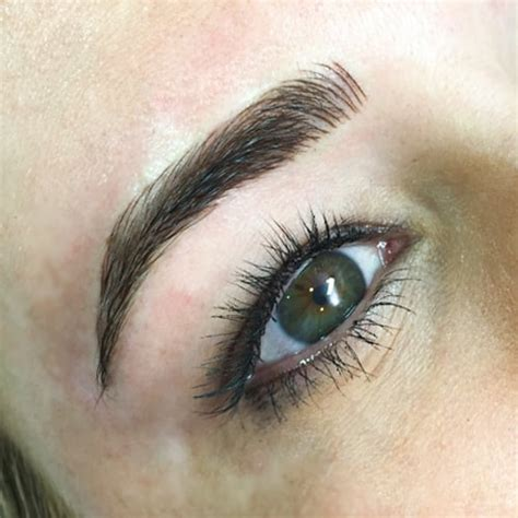 microblading eyebrow trend video popsugar beauty