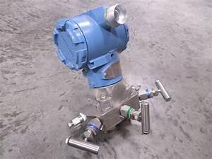 Used Rosemount C305121124 Manifold    Pressure Transmitter