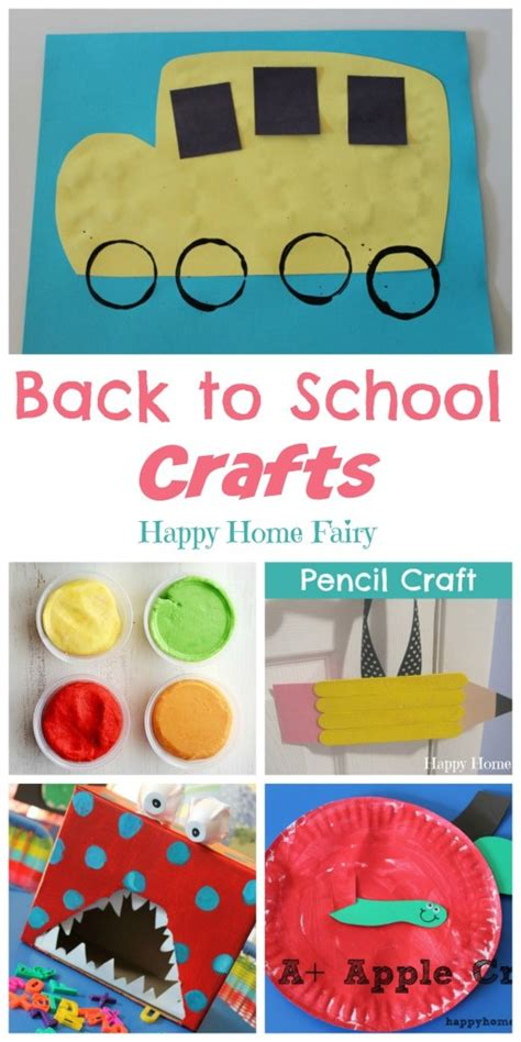 back to school crafts happy home 600 | Back to School Crafts