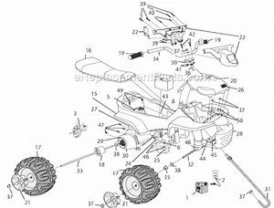 Power Wheels Kawasaki Atv