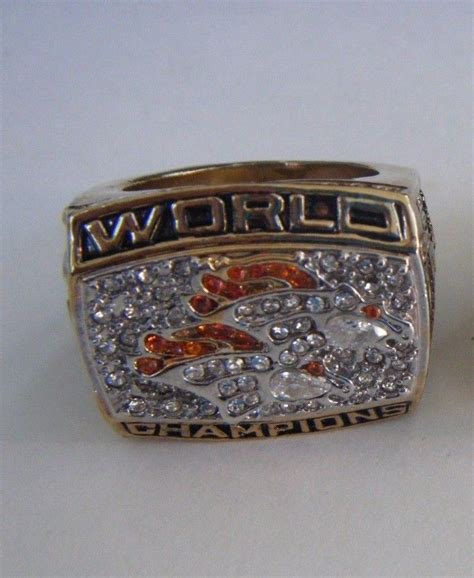 Denver Denver 1998 Super Bowl 33 Championship Ring