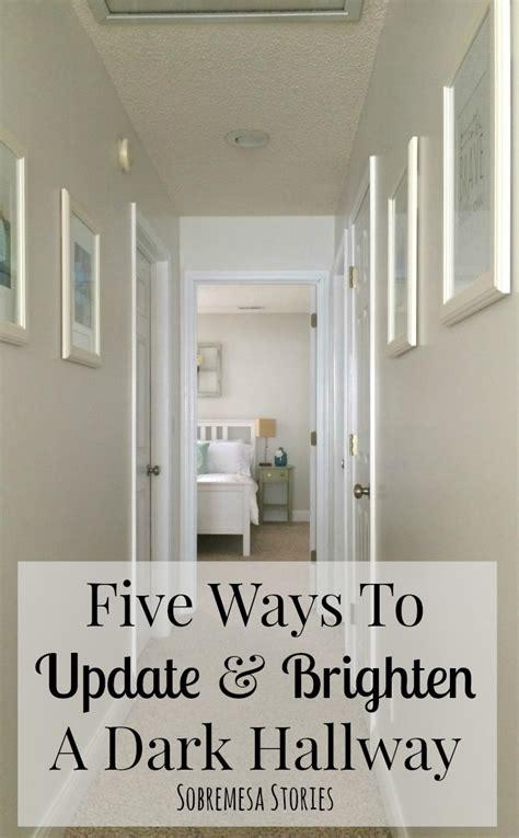 five ways to update and brighten a hallway