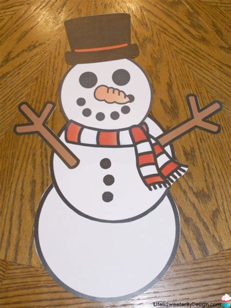 Where Can I Build And Print A Free Resume by Build A Snowman Free Printables Is Sweeter By Design