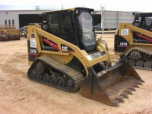 Cat 247b Skid Steer Loader