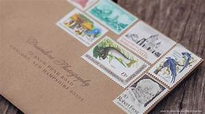 do you ever look at the stamps on the wedding invitations With wedding invitations using stamps