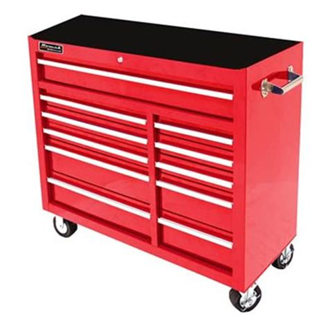 large tool chest 41 inch 11 drawer se series rolling cabinet homak 3670