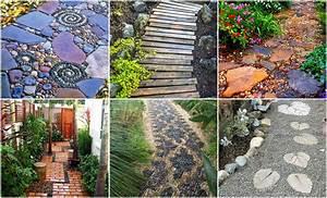 Himmelbett Für Garten : gartenwege anlegen 30 traumhafte ideen f r jeden garten ~ Michelbontemps.com Haus und Dekorationen