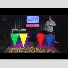 Game Show Maniagss3000set Up & Tear Down Youtube