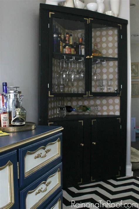 corner liquor cabinet build a corner liquor cabinet plans free