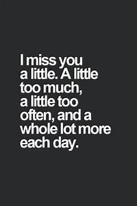 60 Missing You Quotes and Sayings - Pink Lover