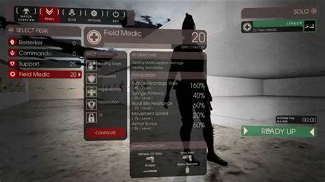 killing floor 2 leveling killing floor 2 easy and fast 25 level perks by ligala youtube