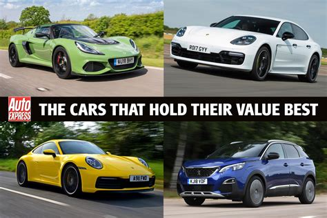 Cars With Best Depreciation car depreciation the cars that hold their value best