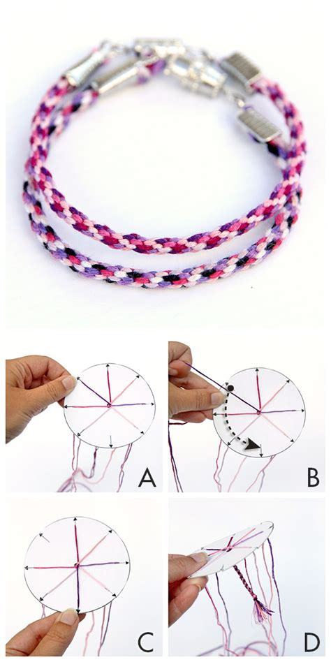 jellyfish friendship bracelets  printable template
