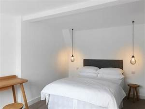 Hanging bedside lamps ideas decor
