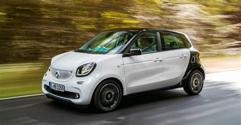 The New Smart Fortwo & Forfour Adding A New Shine To A