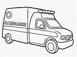 Ambulance Coloring Pages Realistic Printable Popular Getcolorings sketch template