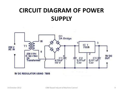 Year 9 Circuit Diagram by Gsm Based Industrial Machine