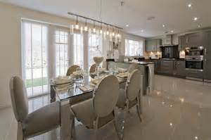 Show Home Interiors Ideas Grey Silver Kitchen Wimpey Show Home Kitchen Kitchen Ideas Grey House