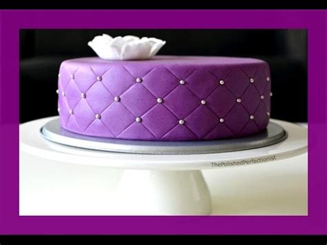 quilted cake gestepptes muster fondanttorte mit