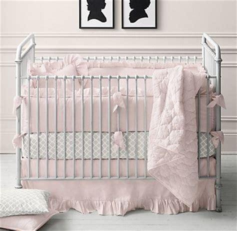 frayed ruffle nursery bedding collection restoration