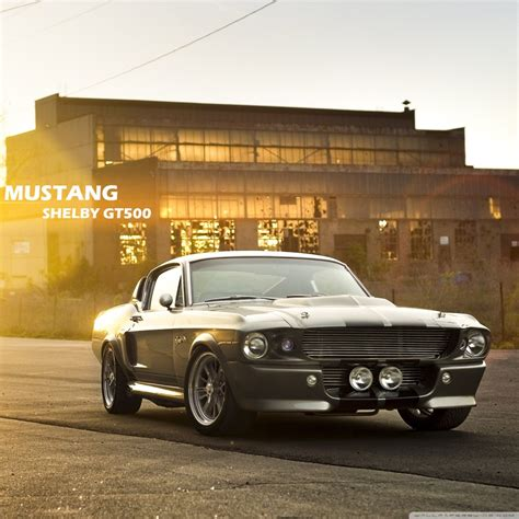 Ford Mustang 4k Hd Desktop Wallpaper For • Wide & Ultra