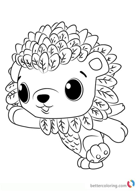 cloud leoriole  hatchimals coloring pages