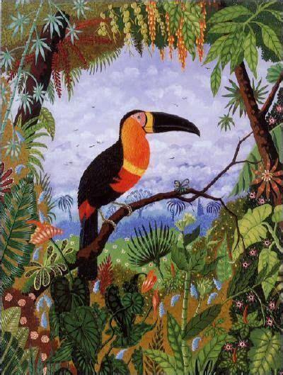 henri rousseau toucan leah newton art