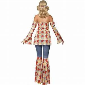 Hippie Look 70er : 70er jahre damenkost m hippie kost m 60er jahre vintage hippiekost m flower power outfit ~ Frokenaadalensverden.com Haus und Dekorationen