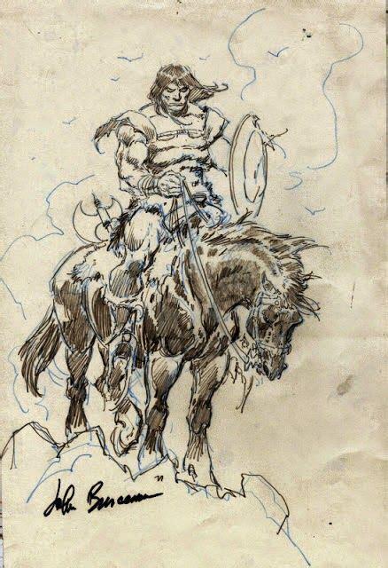 Cap Comics Coupla Conans John Buscema