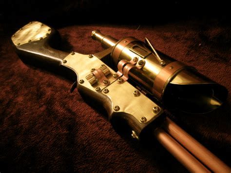 steampunk sniper rifle  steampunk  deviantart
