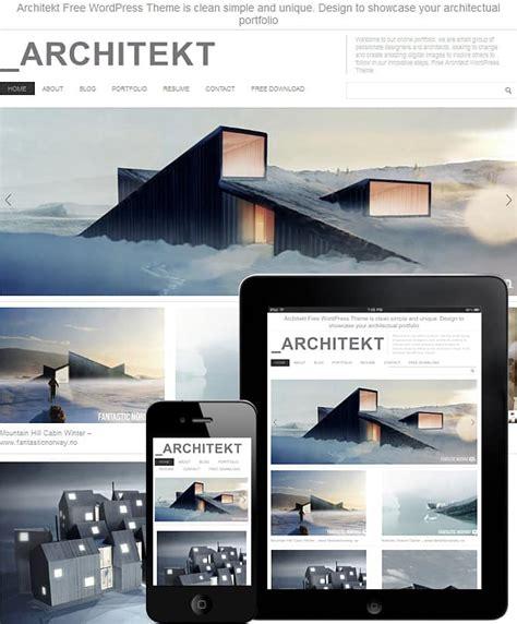 architecture portfolio sles free architecture theme dessign themes
