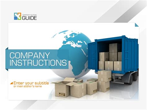 moving company powerpoint template