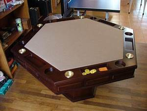 24 best Poker table plan's images on Pinterest Game