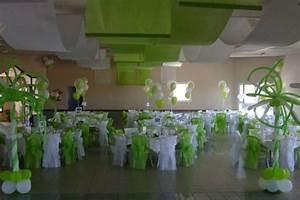 Deco Vert Anis : deco de table mariage vert anis et blanc ma87 jornalagora ~ Teatrodelosmanantiales.com Idées de Décoration