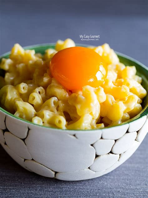 Customise this recipe to make your perfect macaroni cheese for a quick family dinner that everyone will love.you can also make it with extra vegetables, bacon and breadcrumbs on top. Easy stove-top mac and cheese recipe served with a sous vide egg yolk