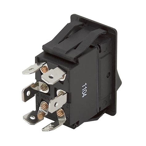 Dpdt Amp Rocker Switch Momentary Maintained