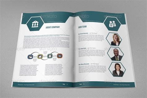 Project Brochure Template by 18 Project Indesign Templates Desiznworld