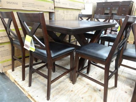 bayside furnishings savonne counter height dining set