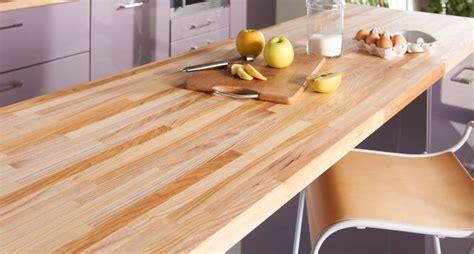 plan de travail en bois massif plan de travail en bois choix et entretien c 244 t 233 maison