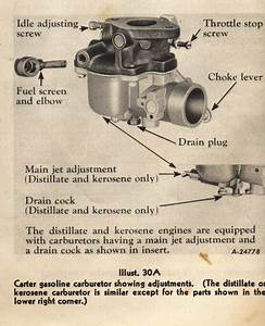 Ford 8n Tractor Carb Adjustments