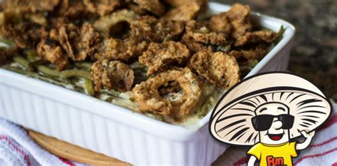funguy mushrooms funguy mushrooms green bean casserole