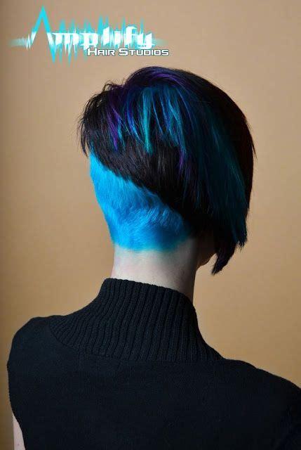 shaved hairstyles ideas  pinterest short