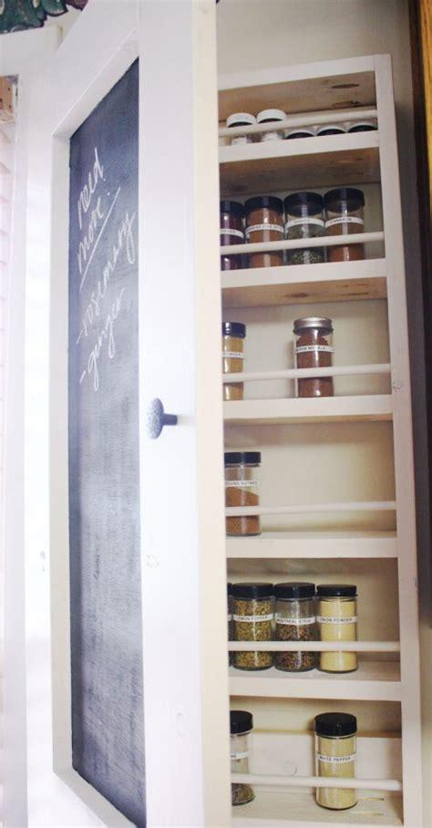chalkboard spice rack shanty  chic