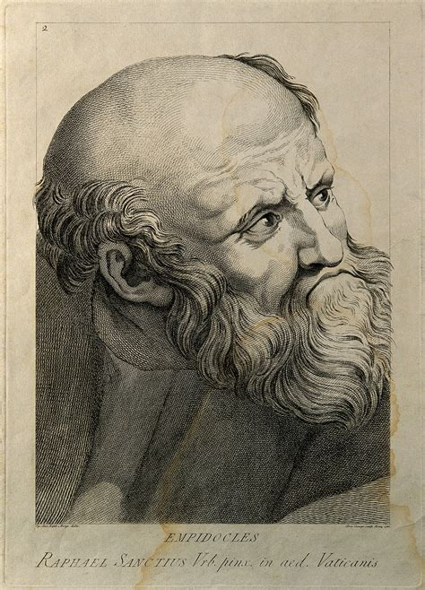 File:Empedocles. Line engraving by D. Cunego, 1785, after