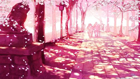 Anime Cherry Blossom Wallpaper - japanese cherry blossom wallpaper 1920x1080 59 images