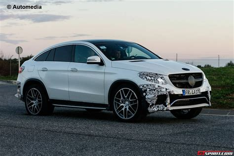 Mercedes-benz Gle63 Amg Coupe Debuting At Detroit