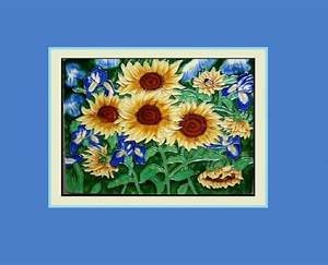 Sunflowers - 3D and CG & Abstract Background Wallpapers on ...